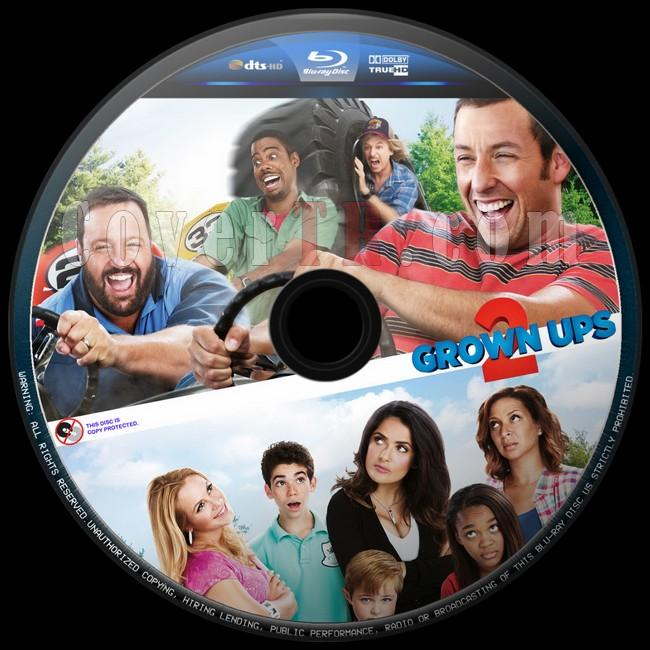 Grown Ups 2 (Büyükler 2) - Custom Bluray Label - English [2013]-buyukler-2-2jpg