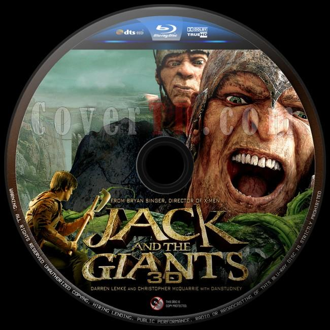 Jack the Giant Slayer  (Dev Avcısı Jack) - Custom 3D Bluray Label - English [2013]-dev-avcisi-jack-2jpg