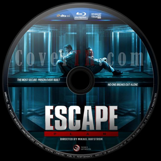 Escape Plan (Kaçış Planı) - Custom Bluray Label - English [2013]-kacis-plani-2jpg