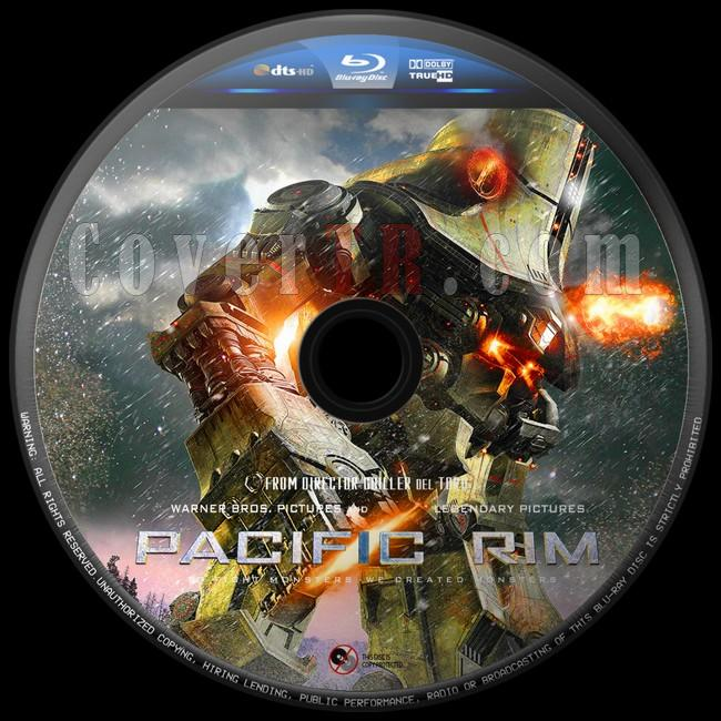 Pacific Rim (Pasifik Savaşı) - Custom Bluray Label - English [2013]-pasifik-savasi-8jpg