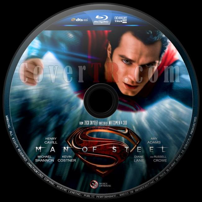 Man of Steel   - Custom Bluray Label - English [2013]-man-steel-2jpg