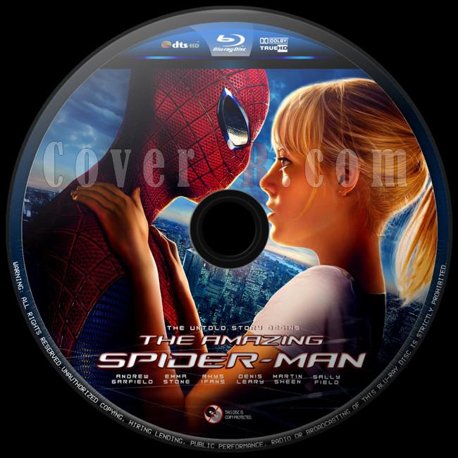 The Amazing Spider-Man (İnanılmaz Örümcek Adam) - Custom Bluray Label - English [2012]-inanilmaz-orumcek-adam-1jpg