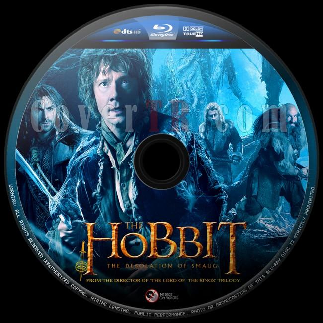 The Hobbit The Desolation of Smaug (Hobbit Smaug'un Viranesi)  - Custom Bluray Label - English [2013]-hobbit-smaugun-viranesi-6jpg