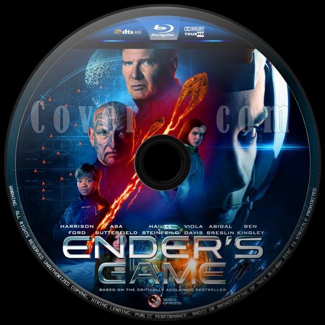 Ender's Game (Uzay Oyunları) - Custom Bluray Label - English [2013]-uzay-oyunlari-6jpg