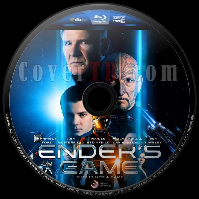 Ender's Game (Uzay Oyunları) - Custom Bluray Label - English [2013]-uzay-oyunlari-8jpg