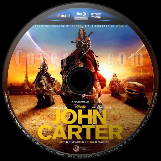 John Carter  (John Carter: İki Dünya Arasında) - Custom Bluray Label - English [2012]-john-carter-2jpg