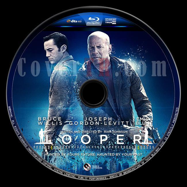 Looper (Tetikçiler) - Custom Bluray Label - English [2012]-tetikciler-2jpg