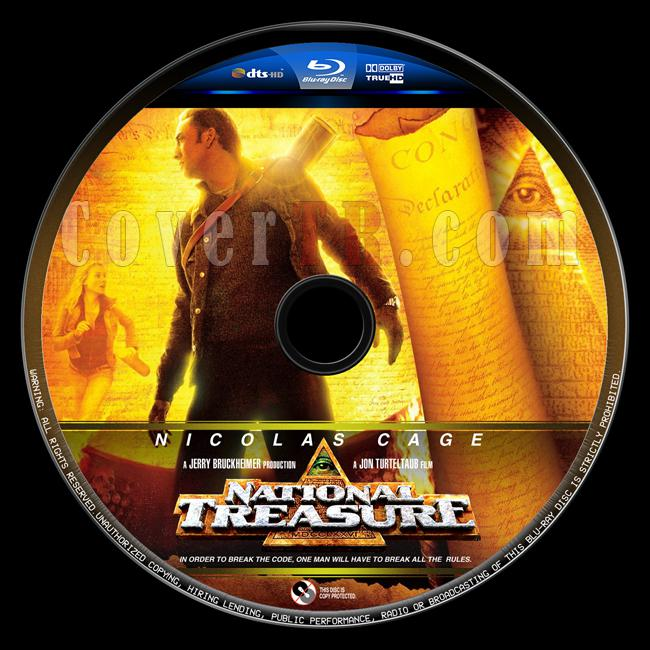 National Treasure (Büyük Hazine) - Custom Bluray Label - English [2004]-buyuk-hazine-2jpg