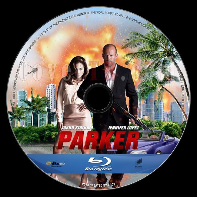 Parker - Custom Bluray Label - English [2013]-parker-blu-ray-labeljpg