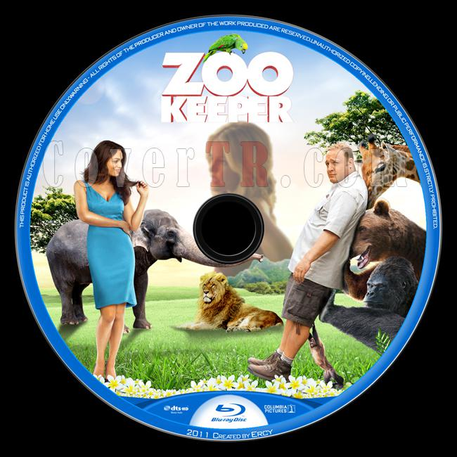 Zookeeper (Hayvan Bakıcısı) - Custom Bluray Label - English [2011]-zookeeper-blu-ray_labeljpg