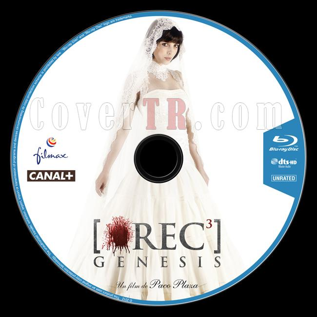 [REC]³ Génesis (Rec 3: Diriliş) - Custom Bluray Label - English [2012]-onizlemejpg