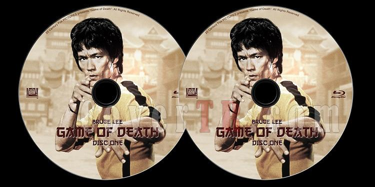 Game of Death - Custom Bluray Label Set - English [1978]-previewjpg