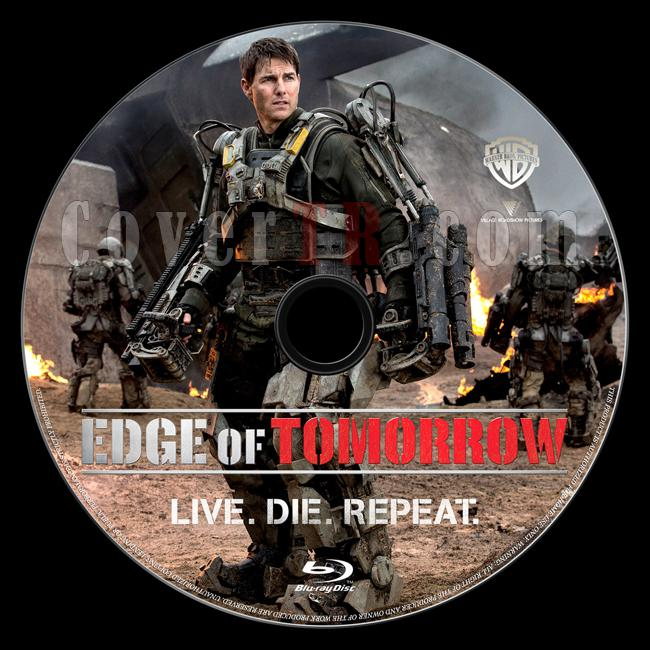 Edge of Tomorrow (Yarının Sınırında) - Custom Bluray Label - English [2014]-onizleme-1jpg