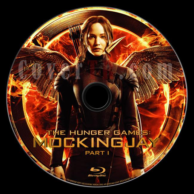 The Hunger Games: Mockingjay - Part 1 (Açlık Oyunları: Alaycı Kuş - Bölüm 1) - Custom Bluray Label - English [2014]-onizleme-1jpg