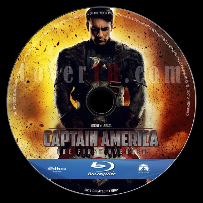 Captain America: The First Avenger - Custom Bluray Label - English [2011]-captain_america_v1jpg