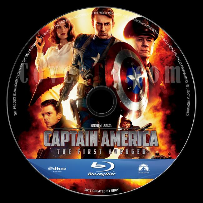 Captain America: The First Avenger - Custom Bluray Label - English [2011]-captain_america_v2jpg