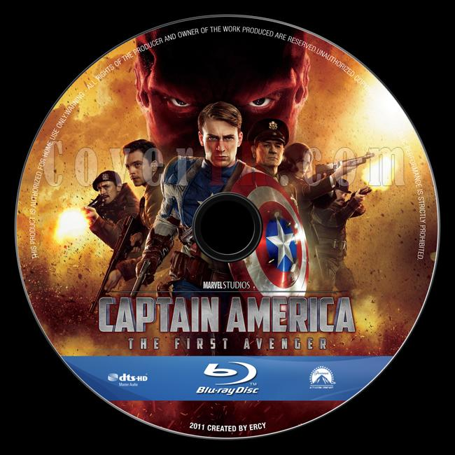 Captain America: The First Avenger - Custom Bluray Label - English [2011]-captain_america_v4jpg