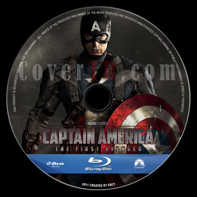 Captain America: The First Avenger - Custom Bluray Label - English [2011]-captain_america_v5jpg