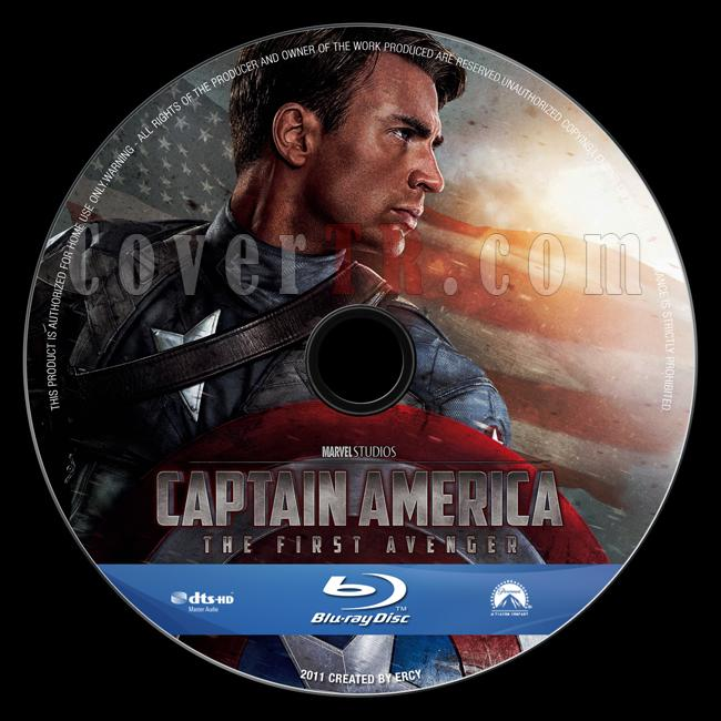 Captain America: The First Avenger - Custom Bluray Label - English [2011]-captain_america_v6jpg