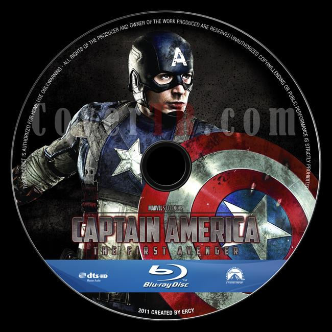 Captain America: The First Avenger - Custom Bluray Label - English [2011]-captain_america_v7jpg