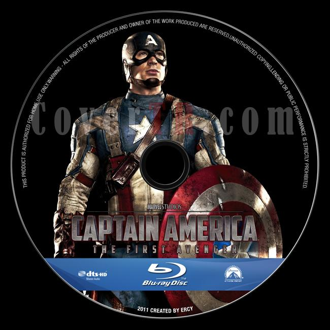 Captain America: The First Avenger - Custom Bluray Label - English [2011]-captain_america_v8jpg