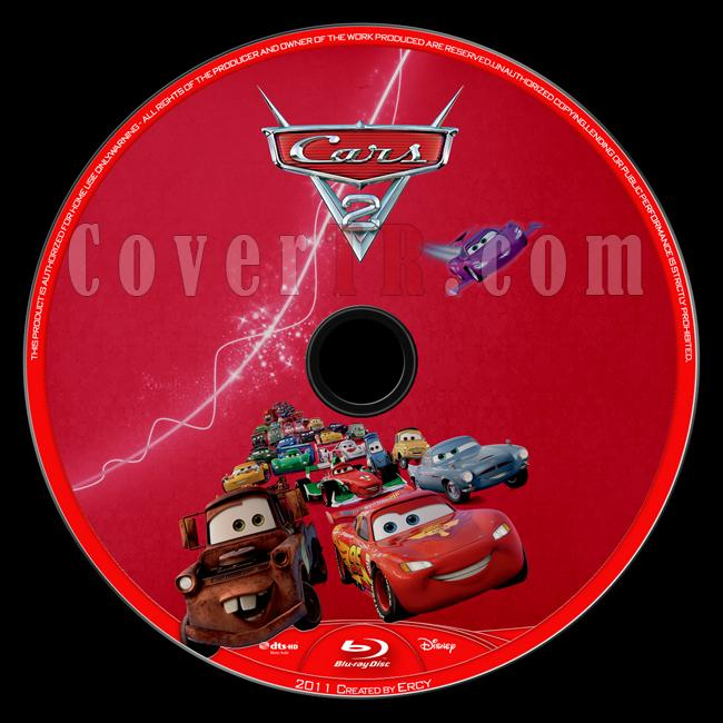 Cars 2 - Custom Bluray Label - English [2011]-cars_2_blu_ray_label_v1jpg