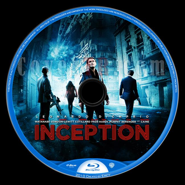 Inception - Custom Bluray Label - English [2010]-inceptionjpg