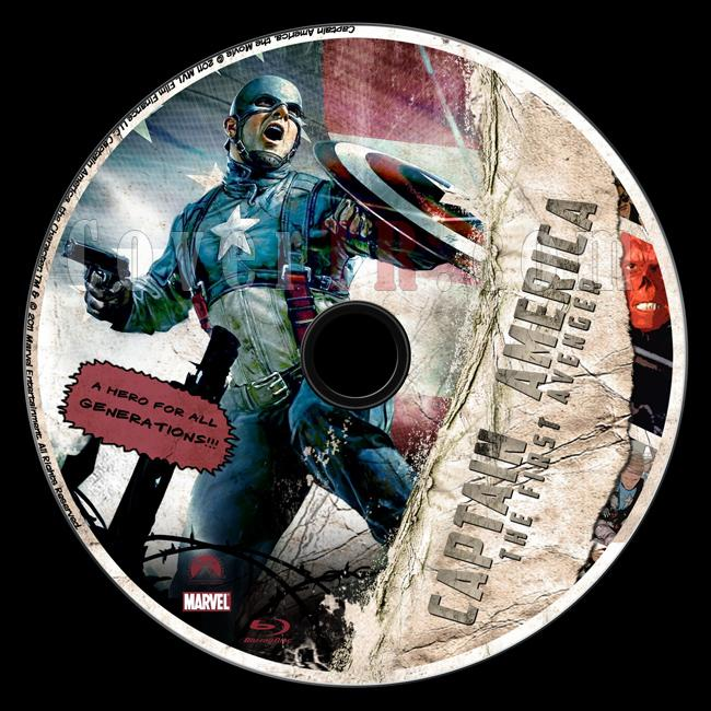 Captain America: The First Avenger - Custom Bluray Label - English [2011]-captain_america_the_first_avenger_blu-ray_label-by_matushjpg
