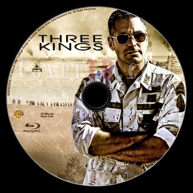 Three Kings - Custom Bluray Label - English [1999]-three_kings_label_by_matush_engjpg