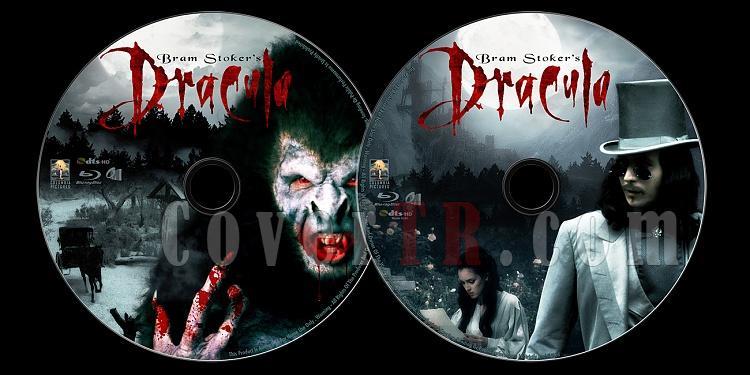 Bram Stoker's Dracula - Custom Bluray Label - English [1992]-untitled-1jpg