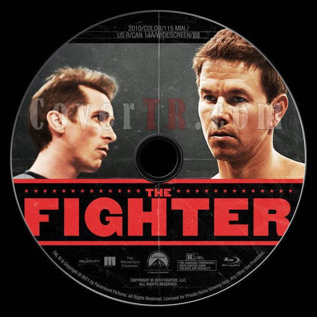 The Fighter - Custom Bluray Label - English [2010]-thefighterbluraylabelbunnydojojpg
