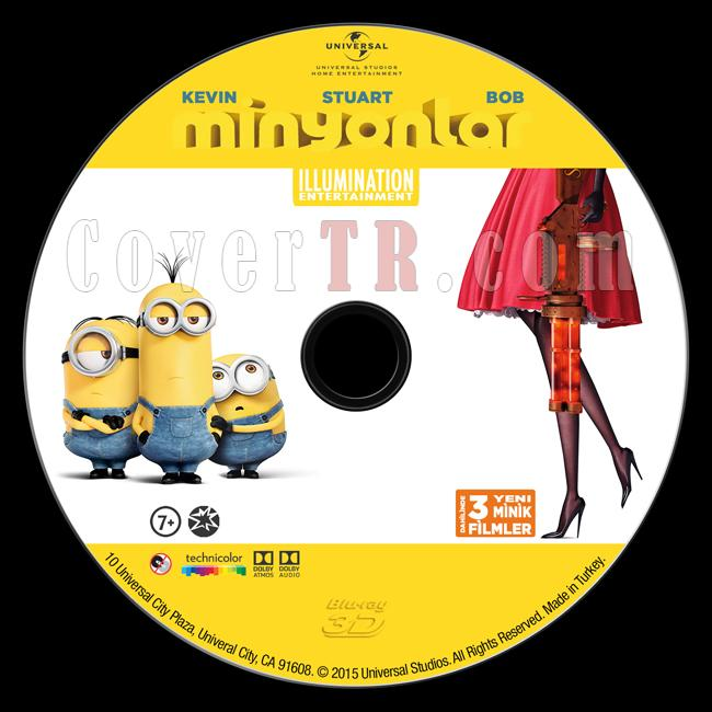 Minions (Minyonlar) - Custom Bluray Label - Türkçe [2015]-minyonlarjpg