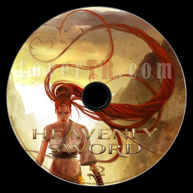 Heavenly Sword - Custom Bluray Label - English [2014]-onizleme-1jpg
