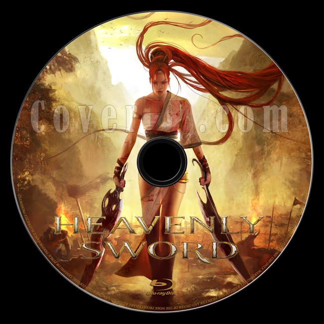 Heavenly Sword - Custom Bluray Label - English [2014]-onizleme-1jpg