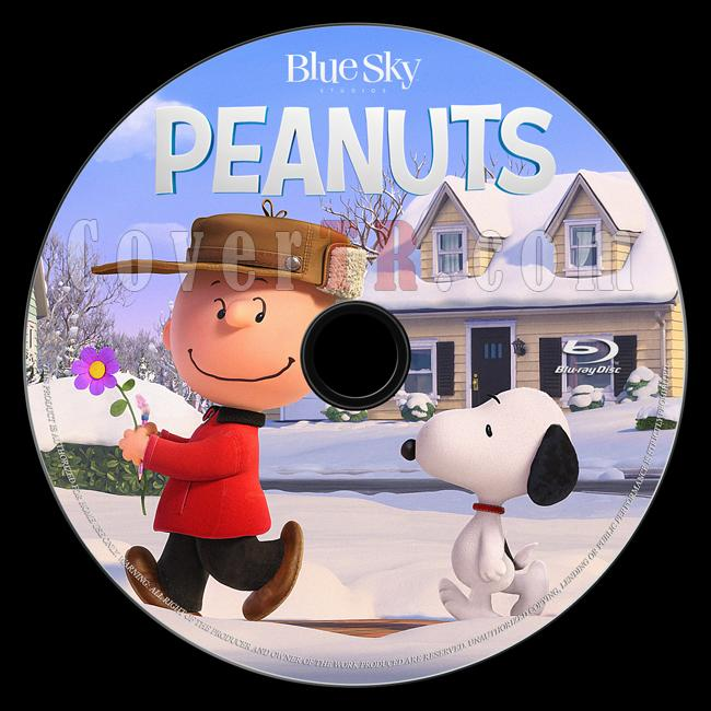 The Peanuts Movie (Snoopy ve Charlie Brown Peanuts Filmi) - Custom Bluray Label - English [2015]-onizlemejpg