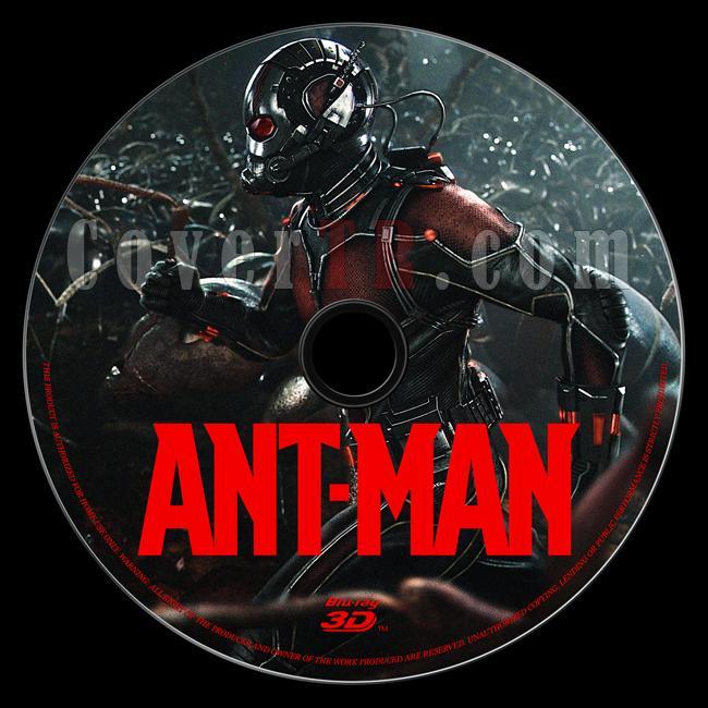 Ant-Man (Karınca Adam) - Custom Bluray Label - English [2015]-onizleme-2jpg