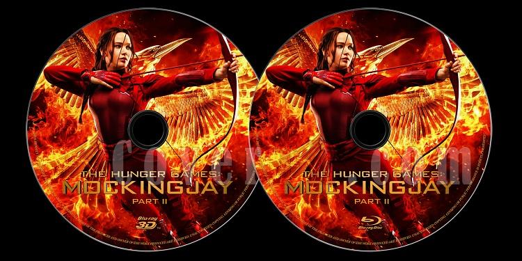 The Hunger Games: Mockingjay - Part 2 (Açlık Oyunları: Alaycı Kuş - Bölüm 2) - Custom Bluray Label - English [2015]-onizlemejpg