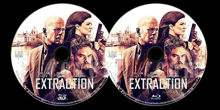 Extraction - Custom Bluray Label - English [2015]-extraction-bluray-3d-label-jokerjpg