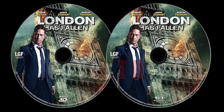 London Has Fallen - Custom Bluray Label - English [2016]-london-has-fallen-bluray-3d-label-2016-jokerjpg