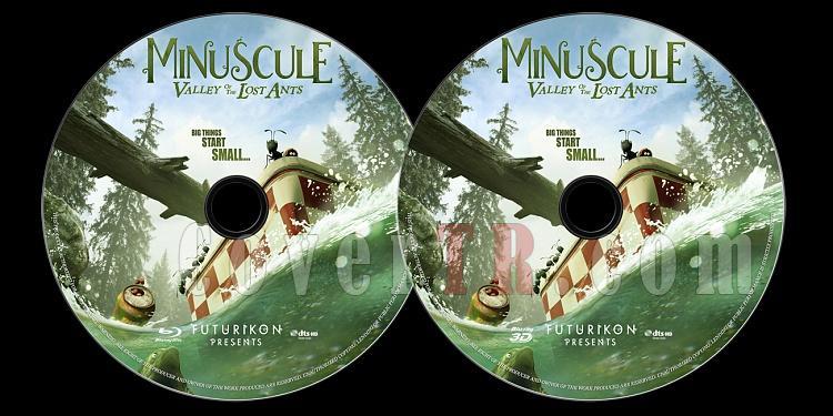 Minuscule: Valley of the Lost Ants (Minuscule: Kayıp Karıncalar Vadisi) - Custom Bluray Label - English [2013]-onizlemejpg