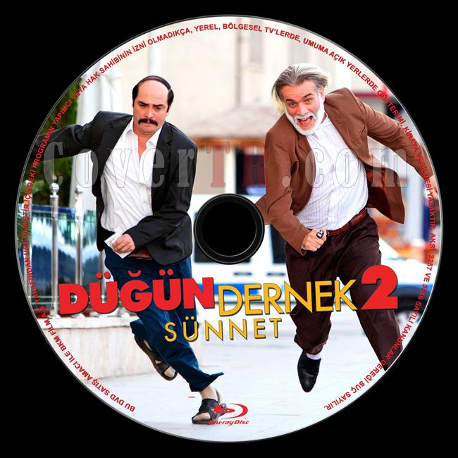 Dügün Dernek 2: Sünnet - Custom Bluray Label - Türkçe [2015]-dugun-dernek-2-sunnet-bluray-labeljpg