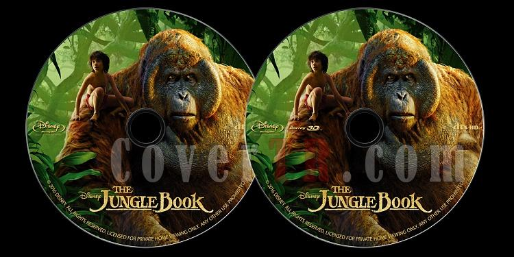 The Jungle Book (Orman Çocuğu) - Custom Bluray Label - English [2016]-onizlemejpg