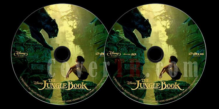 The Jungle Book (Orman Çocuğu) - Custom Bluray Label - English [2016]-onizlemejpg