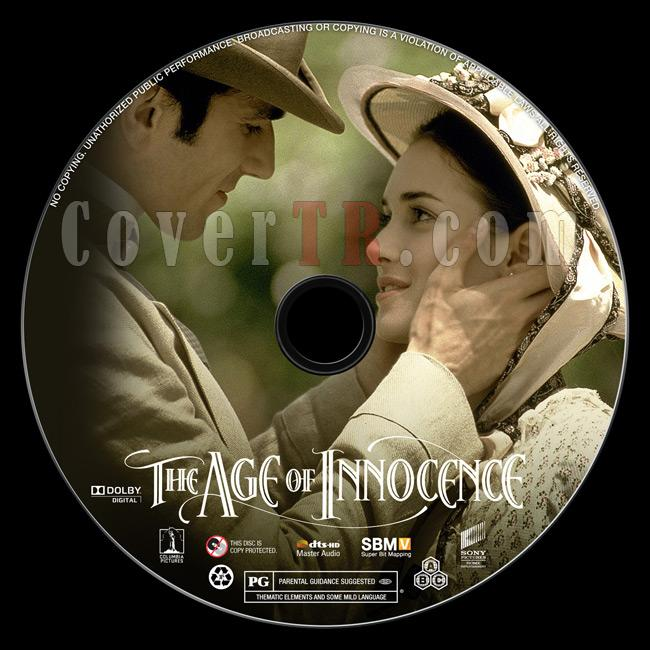 The Age of Innocence - Custom Bluray Label - English [1993]-previewjpg