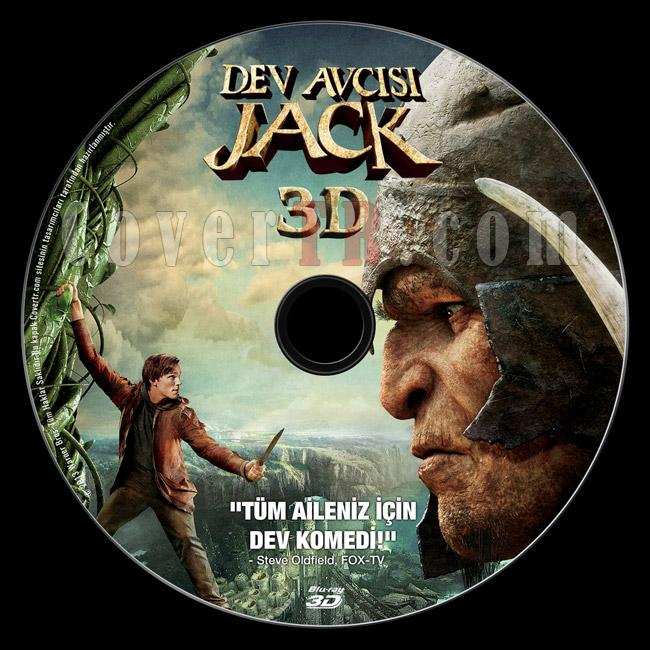 Jack the Giant Slayer (Dev Avcısı Jack) 3D - Custom Bluray Label - Türkçe [2013]-previewjpg