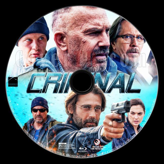 Criminal - Custom Bluray Label - English [2016]-criminal-bluray-labeljpg