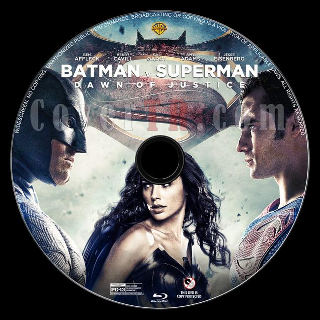 Batman v Superman: Dawn of Justice - Custom Bluray Label - English [2016]-1jpg