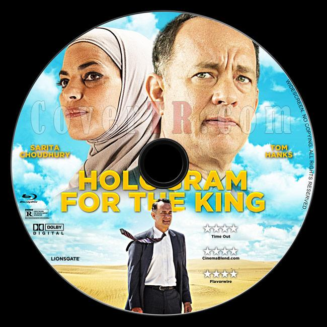 A Hologram for the King - Custom Bluray Label - English [2016]-3jpg