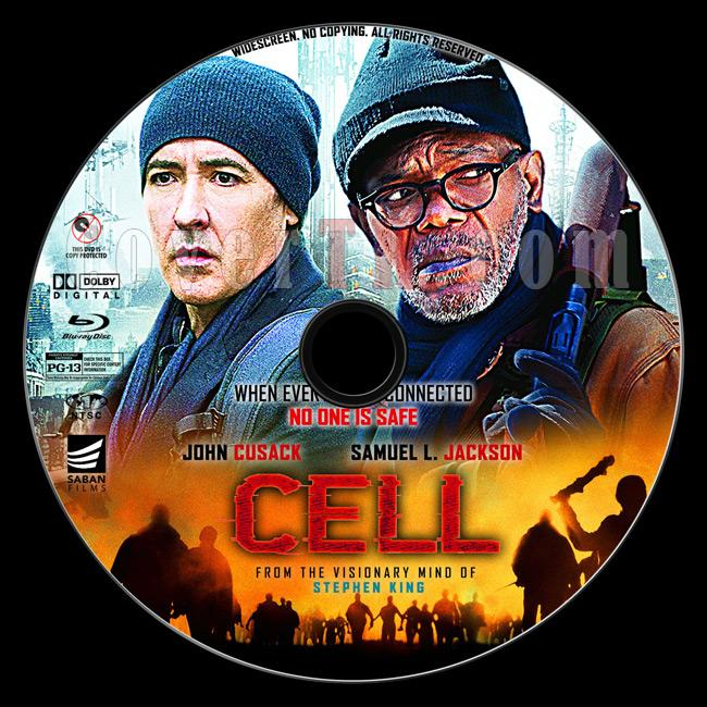 Cell - Custom Bluray Label - English [2016]-1jpg
