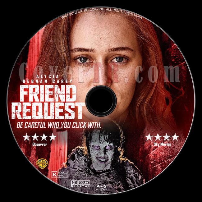 Friend Request (Lanetli Mesaj) - Custom Bluray Label - English [2016]-1jpg